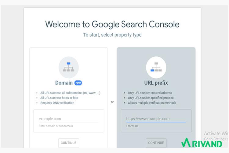 گوگل سرچ کنسول ریوند